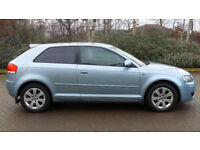 2007 56 AUDI A3 2.0 TDI SE 3D AUTO 168 BHP DIESEL *2 YEARS WARRANTY*FINANCE AVA