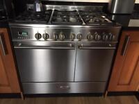 KENWOOD 90cm Stainless Steel Range Cooker