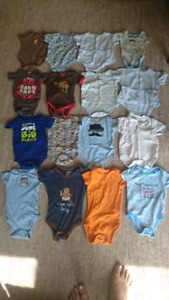 Box of Boys Clothes 3-6 months