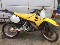 SUZUKI RM250 250CC Motocross bike yz250