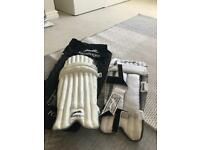 Junior cricket leg guards (shin pads)