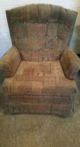 Two Living Room Accent Chairs---  Neutral Colour---Yorkton, SK