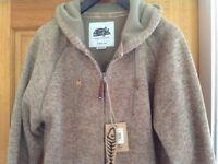 Men's medium size hoodie..wierd Fish still labelled as new
