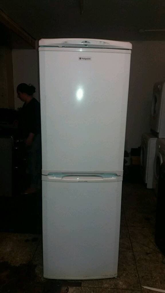 Fridge freezer HOTPOINT fully working offer 9 months warranty and free delivery