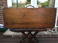 CARPENTERS WOODEN TOOLBOX