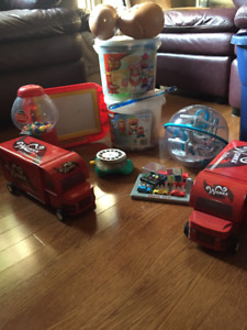 Small box of Toys