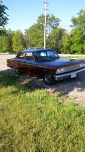 1963 FAIRLANE 500 2 DR POST 302 3SPD SOLID CAR 7500