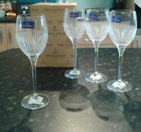 Villeroy and Boch Glasses x4