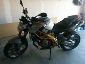 2008 Aprilia Shiver 750 very low KMS, Rare Italian Motorcycle