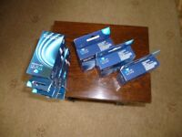 Three Think Inkjet Cartridges Cyan, Magenta & Yellow, reduced for quick sell + 4 free