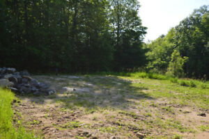 Affordable Building Lot North of Kingston With Drilled Well