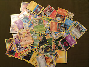 105 Pokemon cards from 2005-2010