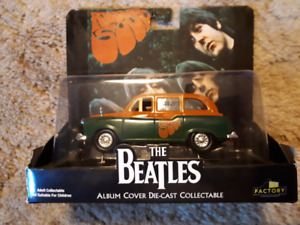 The Beatles Rubber Soul die-cast collectable