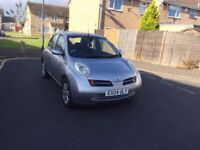 2004 Automatic Nissan Micra 5 Doors 1.4 Silver very good drive