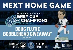 Doug Flutie Bobblehead Free Shipping SGA CFL NFL Boston College