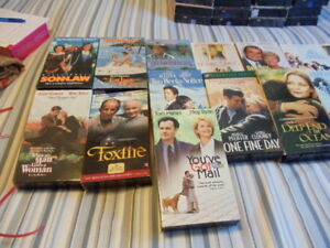 15 pack of VHS movies.