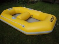 A Compass inflatable dinghy