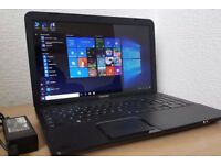 "Toshiba Intel Core i3-3120 Laptop,Wifi/Webcam/hdmi/USB 3.0,15.6"" LED Full hd display win 10"