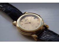 Fortis automatic mechanical wristwatch-Gold plated-Swiss-made Eta 2824-2- NOS Early '90s-Choice of 2