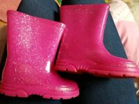 Toddler Girls Wellies Size 4