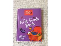 Ella's Kitchen First Foods Cookbook. Brand new