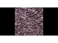 Plum slate 40mm chippings