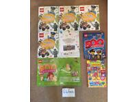 Children's reading activity and sticker books