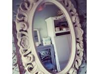 Stunning oval mirror