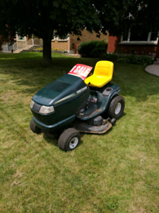 Craftsman ride on lawnmower 16.5hp