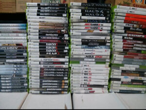Xbox 360 video games $4 each or 3 for $10