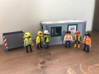 Playmobil builders