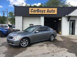 2005 Infiniti G35x AWD, CLEAN TITLE, SAFETY CERTIFIED