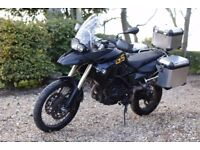 BMW F800GS - Full Service History, panniers, touring, adventure ready: upgraded parts