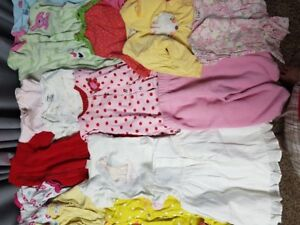 Girls 3 months clothing 41 pieces