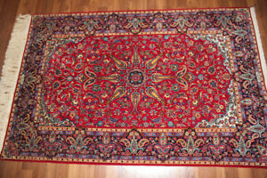 Original Authentic Persian Rug Hand Knotted