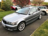 Bmw 320cd 2004 Rare red interior full service history