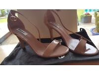 Dune Ladies Shoes size 40/7.5/8 worn once to wedding