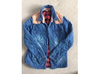 Billabong size small women's lumber style padded jacket