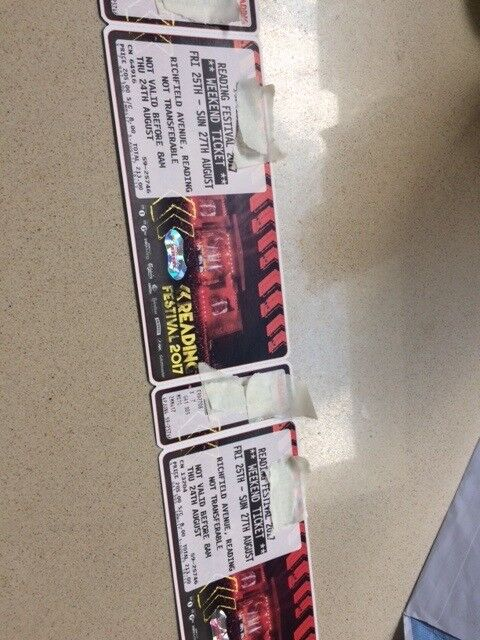 READING FESTIVAL TICKETS with camping £255 each