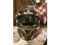 Shark s700 helmet in medium