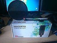 sE Magnetto condenser microphone + sE dual pop shield