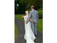 Annasul Y Ivory Wedding Dress - a vintage style embellished wedding gown with the WOW factor.