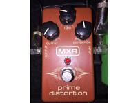 Mxr prime distortion guitar pedal
