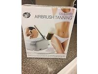 Rio Celebrity Airbrush Tanning System Fast Drying Micro Fine Spray - used once