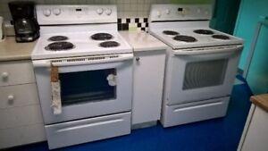 2 Poêles de cuisine et une laveuse à vendre