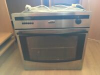 New world gas oven (built in) been used Handful of times