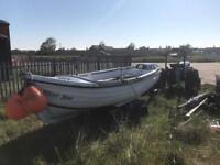 Orkney 16ft fishing boat