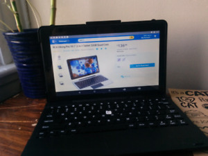 RCA Vikings tablet, 10in screen and keyboard case!
