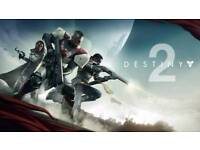 PS4 pro with Destiny 2 paid in full