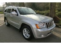 Jeep Grand Cherokee 3.0 CRD OVERLAND AUTO 4X4 (silver) 2009